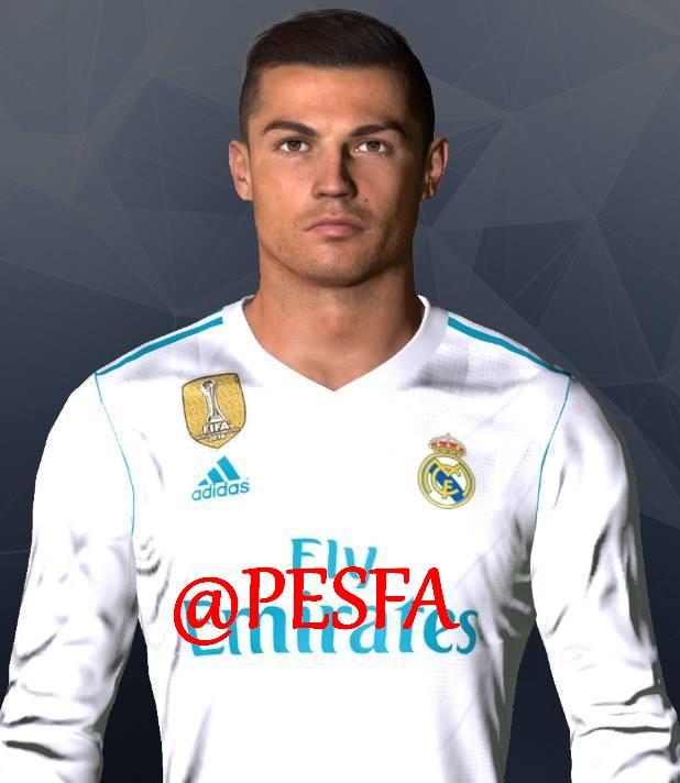 فیس جدید Ronaldo توسط Shenawy برای PES 2017