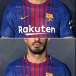 فیس + تتو Suarez توسط Shenawy برای PES 2017