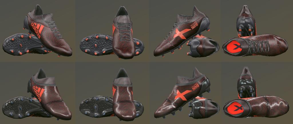 پک کفش Adidas X17 توسط Tisera09 برای PES 2017