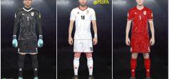 کیت پک تیم ملی ایران توسط Kian برای PES 2018