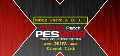 پچ SMoKE X 10.1.3 برای PES 2018