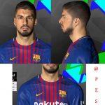 فیس Suarez + تتو توسط Abdo Mohamed برای PES 2017