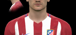 فیس Griezmann توسط The White Demon برای PES 2017