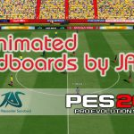 پک تابلو تبلیغاتی جام جهانی 2018 توسط JAS برای PES 2017