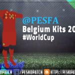 کیت پک Belgium World Cup 2018 برای PES 2013
