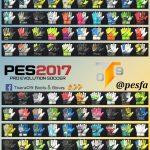 پک دستکش نسخه 4 توسط T09 برای PES 2017