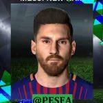 فیس جدید Messi توسط Messipradeep برای PES 2017