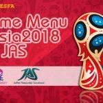منو جام جهانی روسیه 2018 توسط JAS برای PES 2018