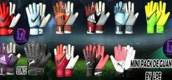 مینی پک دستکش جدید توسط LPE برای PES 2017