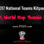 کیت پک جام جهانی 2018 ورژن 1 توسط Minosta4u برای PES 2017