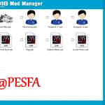 ابزار Mod Manager BETA برای PES 2018