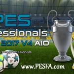 پچ پروفشنال v4.0 برای PES 2017