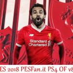 آپشن فایل PESFan V8 برای PES 2018 (مخصوص PS4)