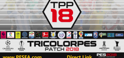 پچ حجیم TricolorPES v1.1 برای PES 2018