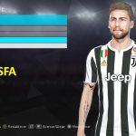 فیس Marchisio + تتو توسط neest برای PES 2018