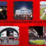 استادیوم پک جام جهانی روسیه 2018 برای PES 2013