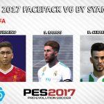 فیس پک ورژن 6 توسط Syamil برای PES 2017