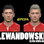 فیس Lewandowski توسط The White Demon برای PES 2017