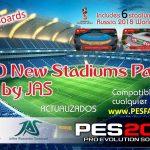استادیوم پک 40 تایی جدید توسط JAS برای PES 2017