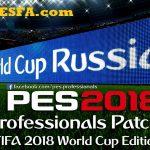 پچ پروفشنال v2 برای PES 2018 + آپدیت 2.2
