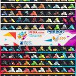 پک کفش v6 توسط T09 برای PES 2017