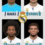 فیس پک Real Madrid توسط White Demon برای PES 2017