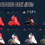 پک کفش Adidas Cold Blooded توسط LPE برای PES 2017