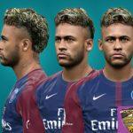 فیس Neymar توسط Alief برای PES 2017