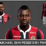 فیس Michael Seri توسط PieroU10 برای PES 2013