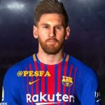 فیس Messi توسط Ben Hossam برای PES 2017