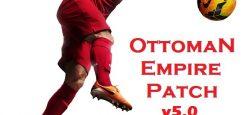 آپدیت پچ Ottoman Empire v5.0 برای PES 2017