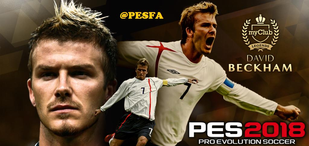 آموزش اضافه کردن David Beckham به PES 2018 آفلاین