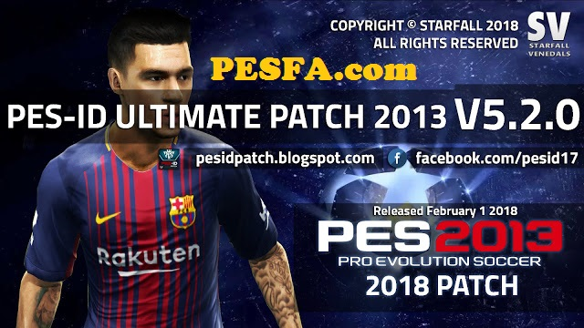 پچ PES-ID Ultimate v5.0 AIO برای PES 2013 + آپدیت 5.2