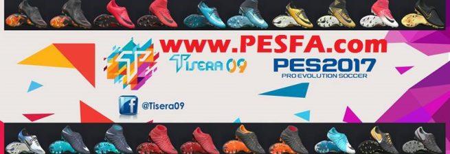 پک کفش ورژن 7 توسط Tisera09 برای PES 2017