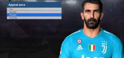 فیس جدید Gianluigi Buffon برای pes2017