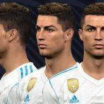 فیس Ronaldo توسط WER برای PES 2017