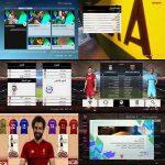 منوی گرافیکی جدید برای pes 2017