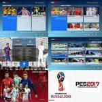 منو گرافیکی World Cup Russia توسط Hatem برای PES 2017