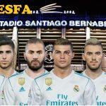فیس پک Real Madrid توسط LR7 برای PES 2018