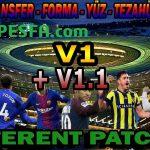 پچ Different v1.1 برای PES 2013