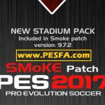 پچ SMoKE 9.7 X برای PES 2017 (+آپدیت 9.7.2)