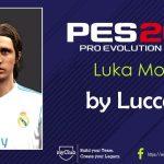 فیس Modricتوسط Lucca_92 برای PES 2013