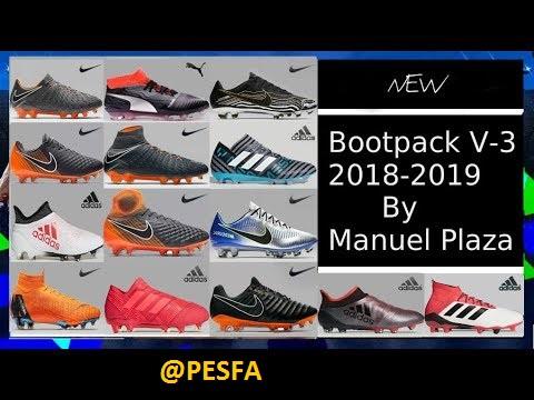 پک کفش v3 توسط Manuel Plaza برای PES 2013