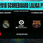 اسکوبرد لالیگا کامل فصل 2018 برای PES 2013