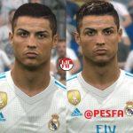 فیس پک Cristiano Ronaldo توسط WER برای PES 2017
