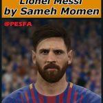 فیس Messi توسط Sameh Momen برای PES 2017