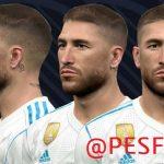 فیس Sergio Ramos توسط WER برای PES 2017