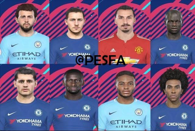 فیس پک Premier League توسط Denis برای PES 2018