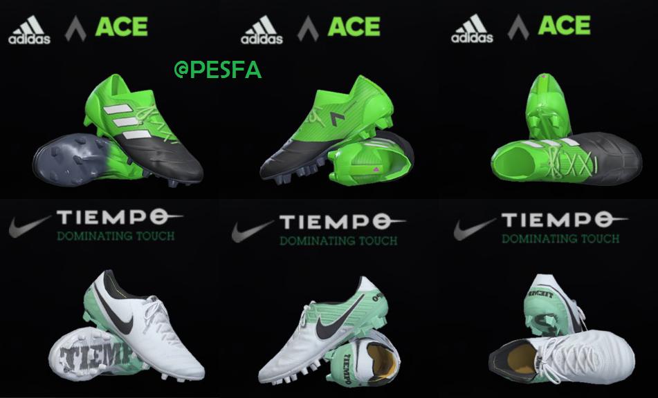 پک کفش Nike توسط T09 برای PES 2017/18