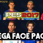 مگا فیس پک + تتو توسط PC Pro برای PES 2017